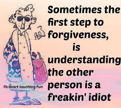 maxine forgiveness