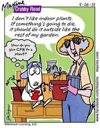 maxine gardening 2