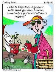 maxine gardening